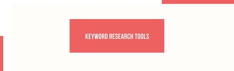 Keyword researh tools