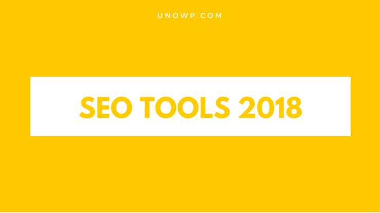 list of seo tools 2018