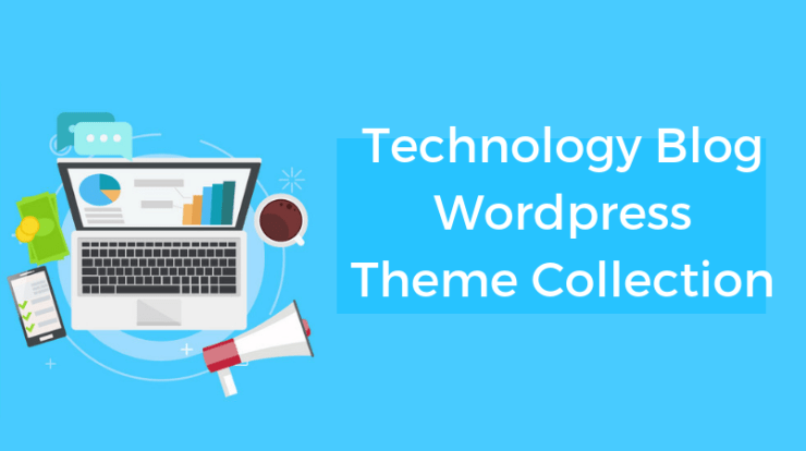 Technology Blog Wordpress Theme Collection