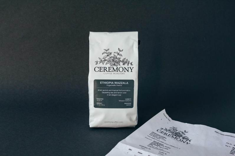 Ceremony Coffee Packaging