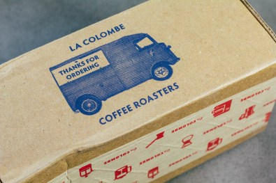 Friendly Little Box La Colombe Coffee Comes In