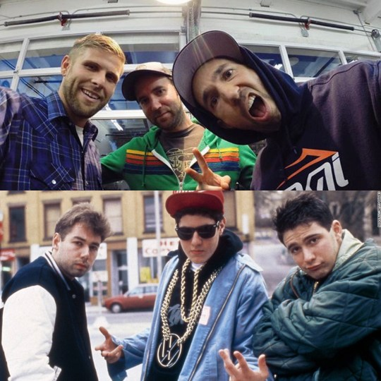 Cat & Cloud sure do look like the Beastie Boys