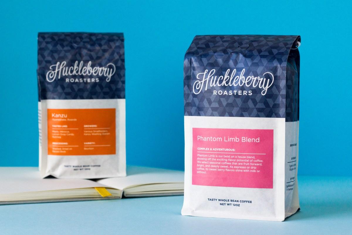 Huckleberry Roasters bags