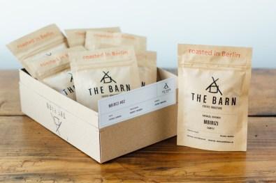 The Barn Coffee Roasters Mbirizi Samples