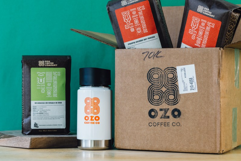 Unpacking Ozo Coffee