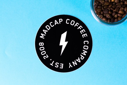Madcap Sticker