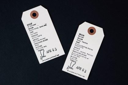 Abracadabra Coffee Co Label Back