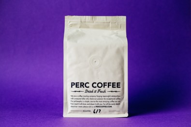Perc Coffee Bag Back Panel