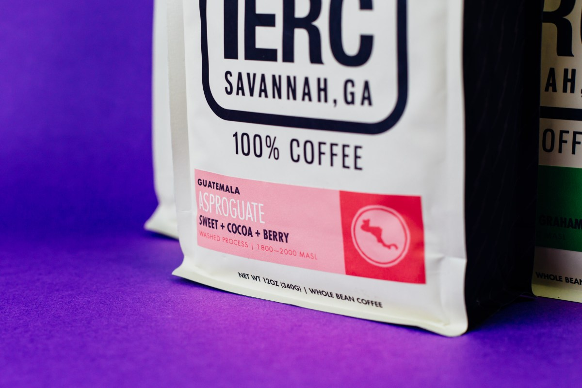 Perc Coffee Label Detail