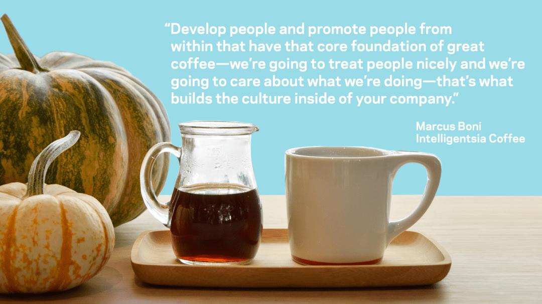 Marcus Boni quote on culture