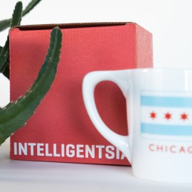 Intelligentsia box and mug