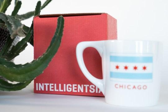 Intelligentsia box and mug
