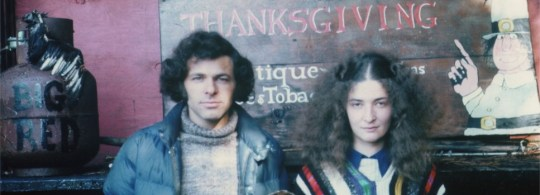 Paul & Joan in 1972. Photo courtesy Thanksgiving Coffee.