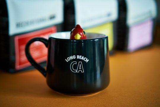 Mug with Long Beach CA on it