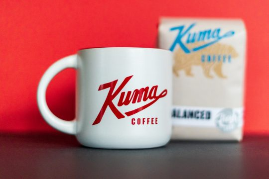 kuma coffee mug
