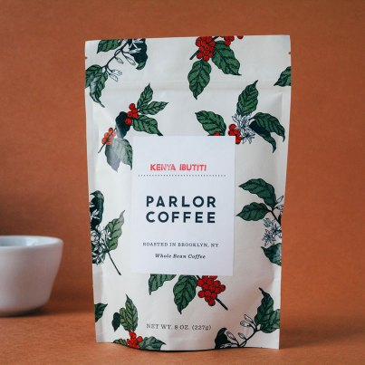 Parlor Coffee Kenya Ibutiti coffee bag