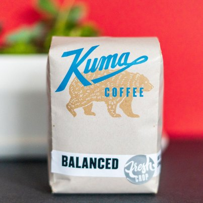 Kuma Coffee Balanced coffee package