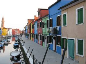 By a rio in Burano