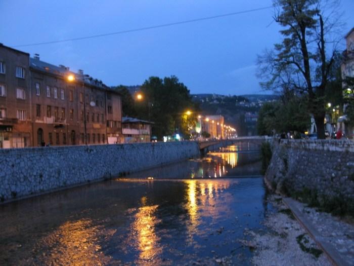 Miljacka River Sarajevo