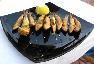 Sardines by the sea