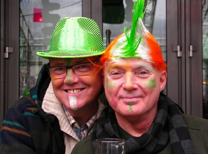 Doing St Patrick proud