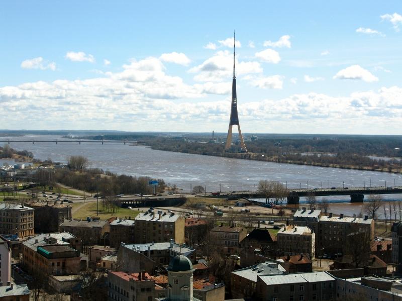 Latvian TV skyscraper