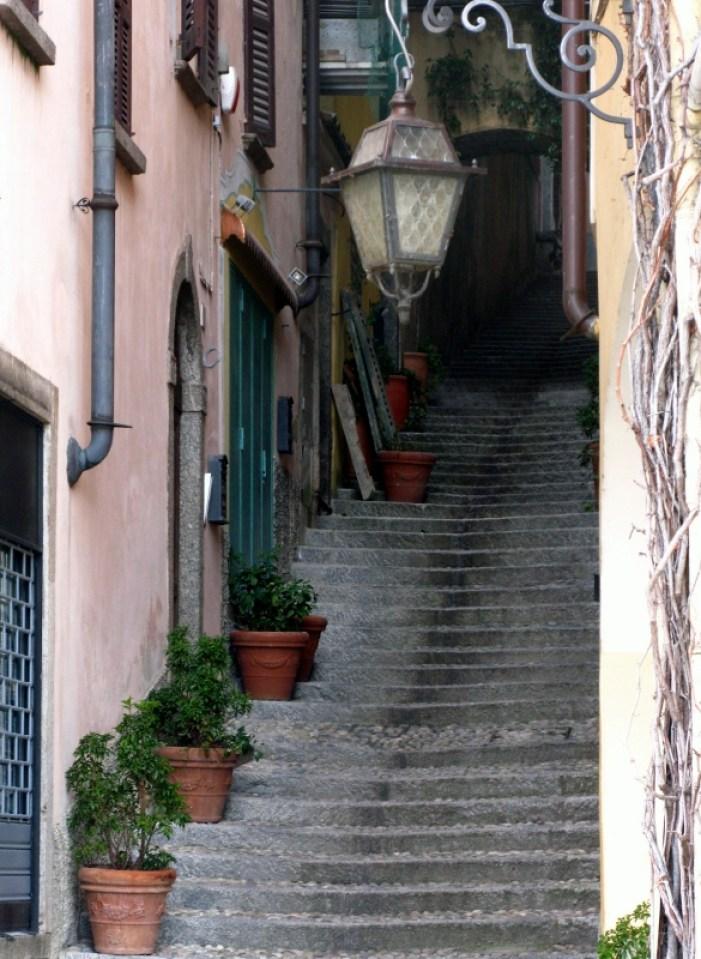 Bellagio steps