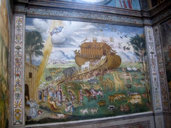 Noah's Ark by Aurelio Luini, Milan