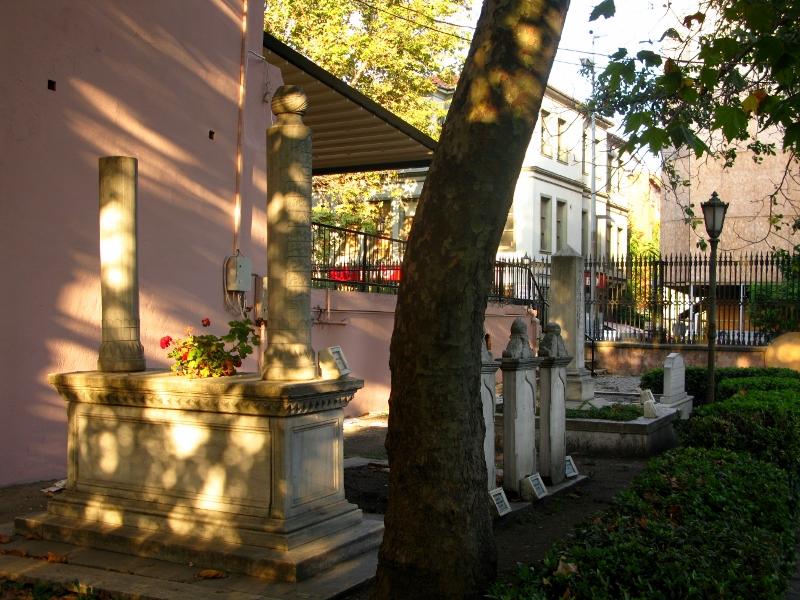 Cemetery in Istanbul, Turkey