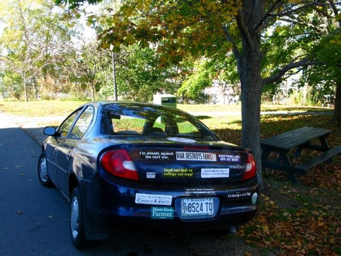 Bumper stickers Maine