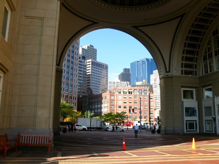 Boston archways