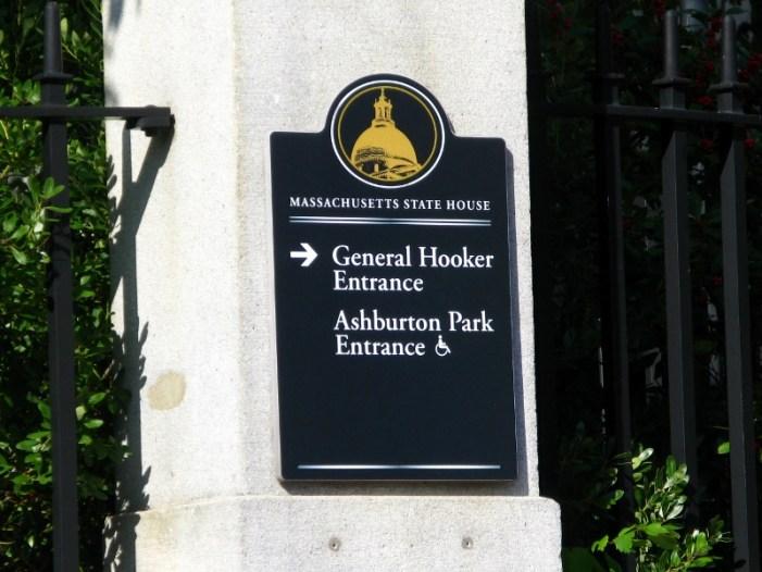 State house, Boston, MA, hooker entrance