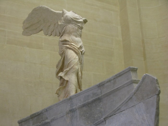 The Winged Victory of Samothrace Paris France Louvre