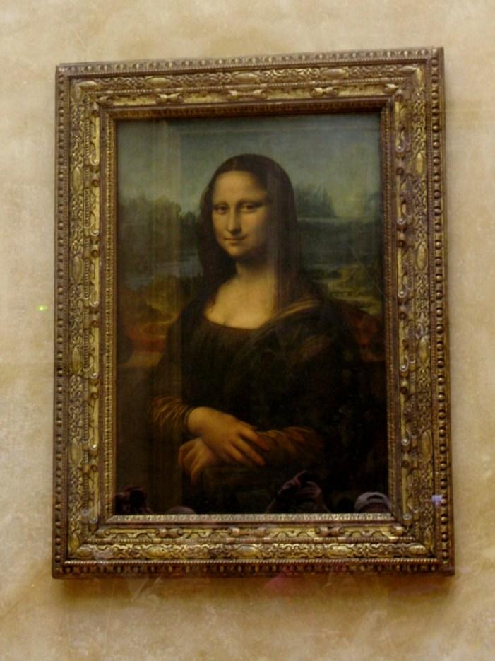 Paris France Louvre Mona Lisa