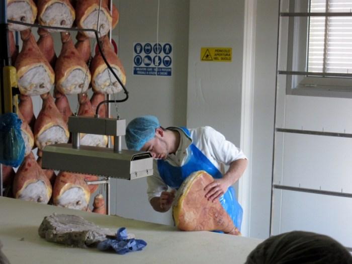 treating parma ham