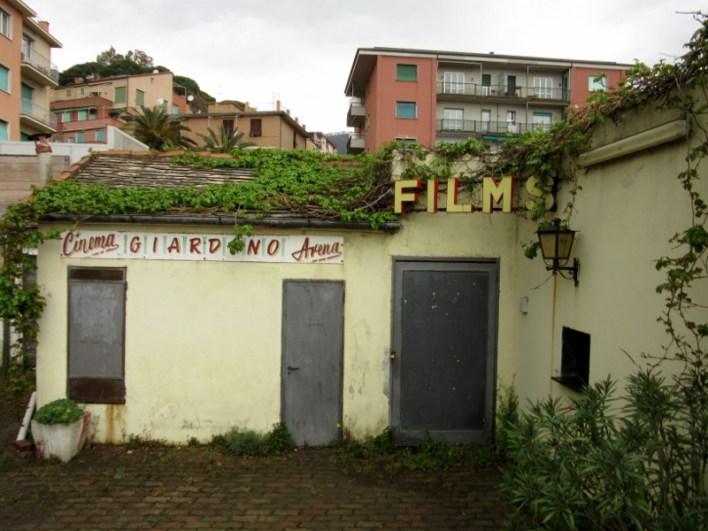 Cinema in Monterossa Cinque Terre