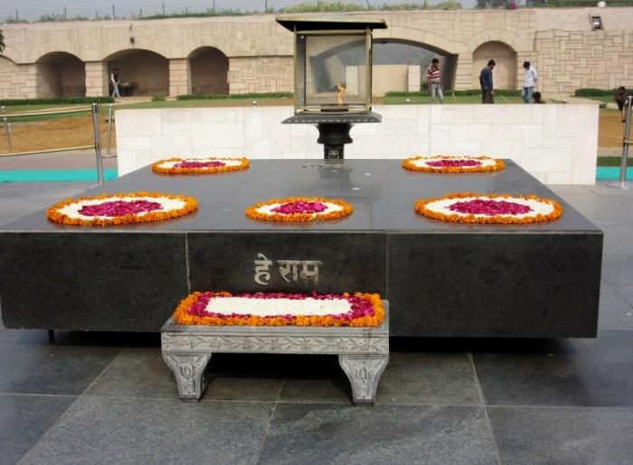 Delhi Gandhi's grave