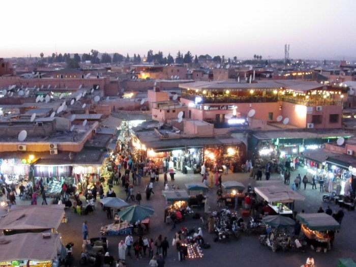 Place Jemaa el Fna Marrakesh