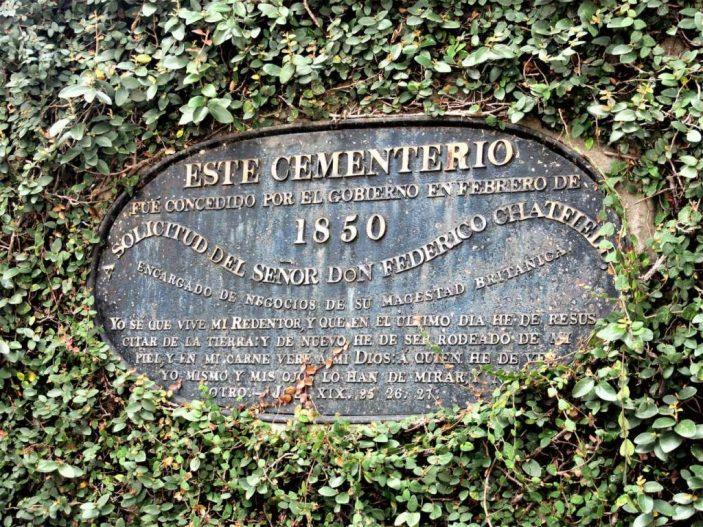 Cementerio de Extranjeros Foreigners' Cemetery San José Costa Rica