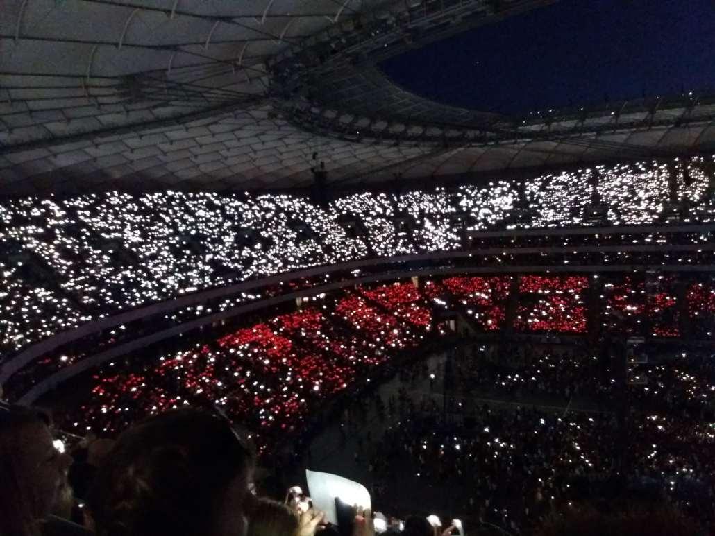 Ed Sheeran Concert Warsaw