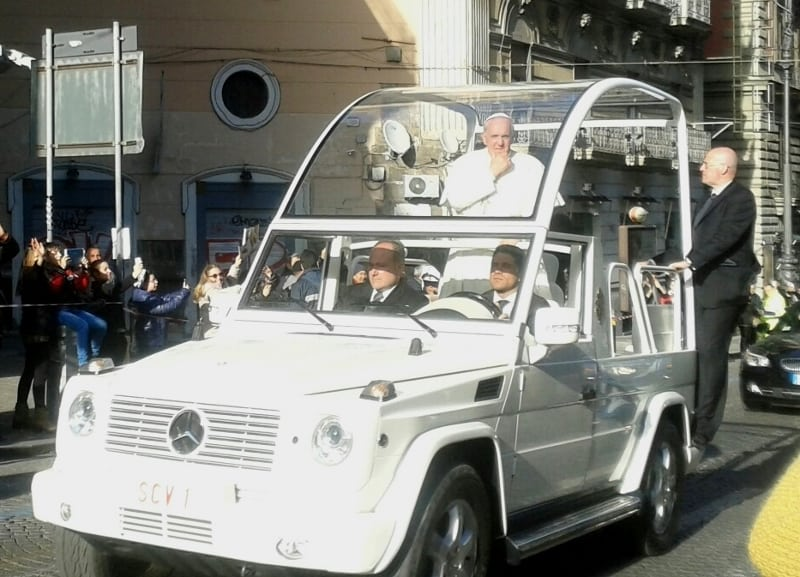 Pope in Naples