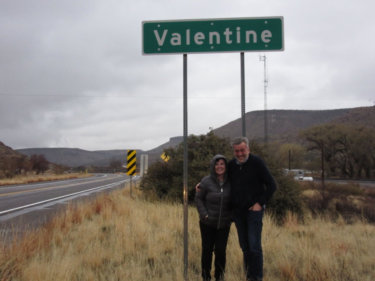 Valentine's Day at Valentine AZ