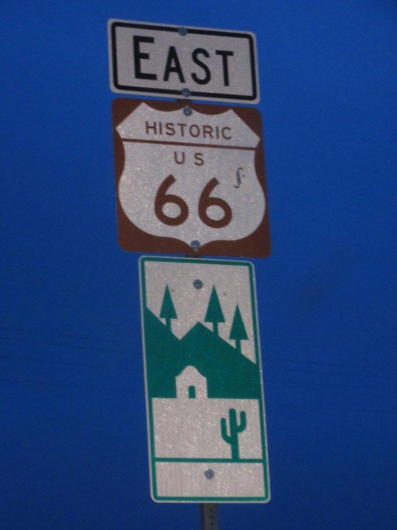 Valentine's Day Route 66 Arizona
