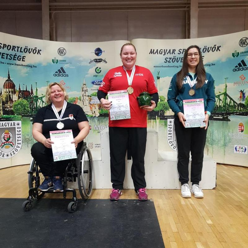 Krisztina Dávid takes second place in Hungarian Open