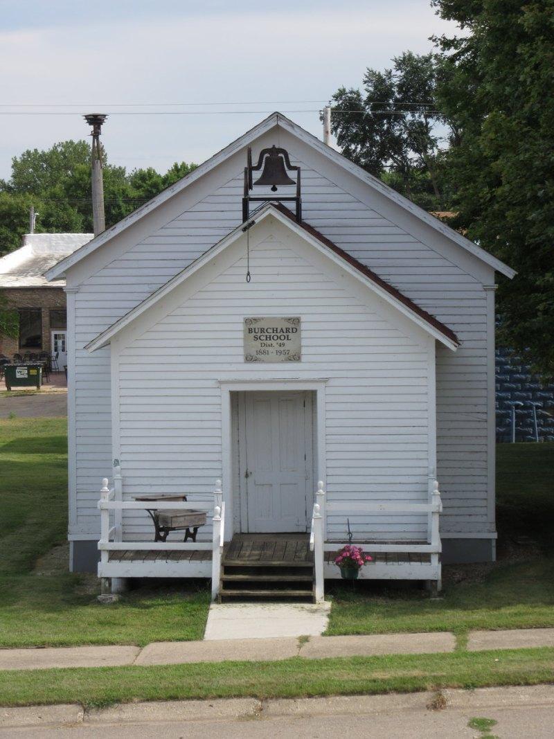 Burchard school house c 1881 Balaton Minnesota
