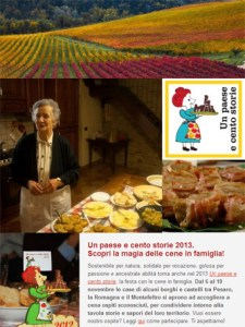 Un paese e cento storie 2013 - newsletter