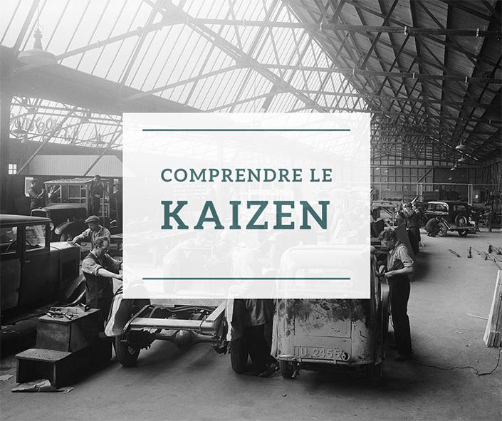 Comprendre le kaizen - usine de voiture  comme celle de toyota à l'origine du kaizen