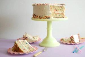 Buttermilk Birthday Sprinkle Cake