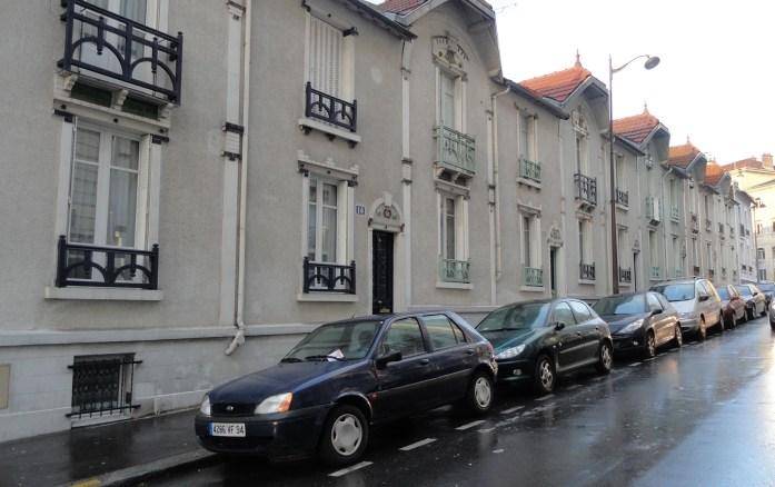 Rue Henri Pape - Maisons