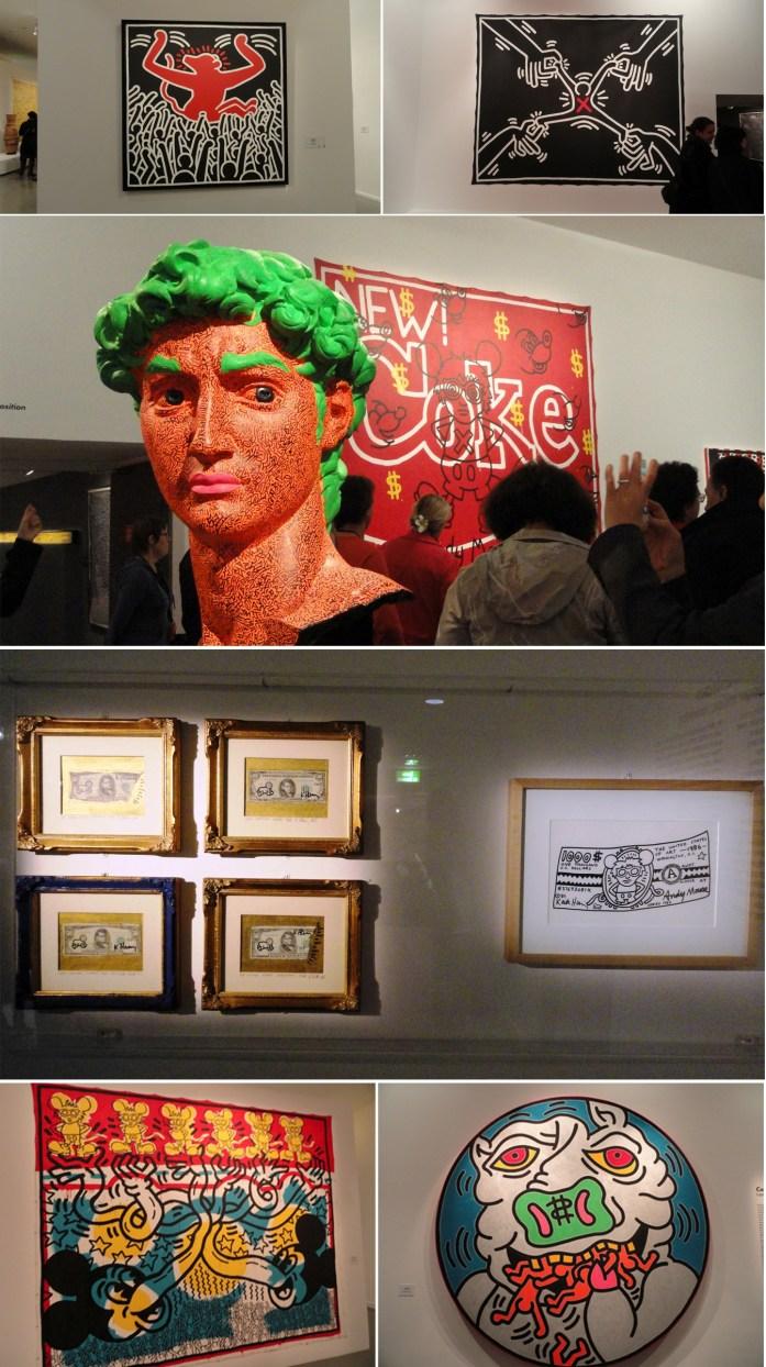 Keith Haring - MAM- Capitalisme